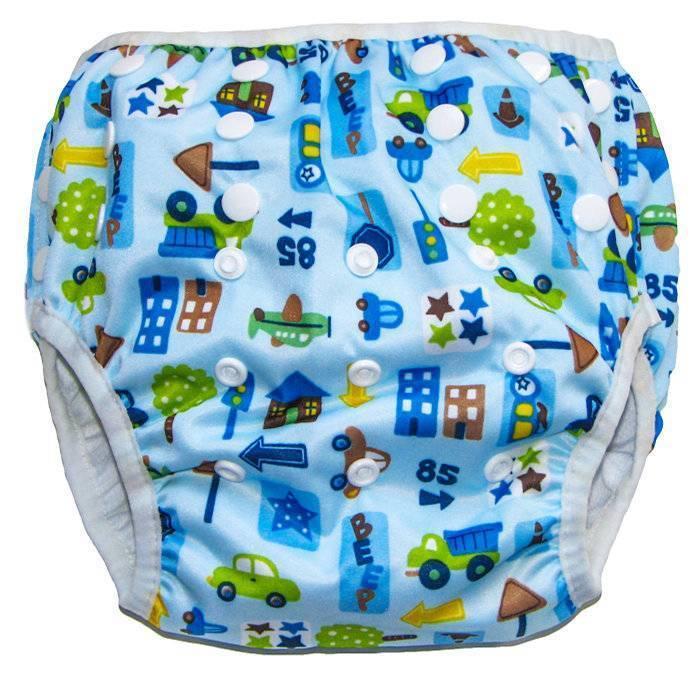 Трусики для плавания малышей в бассейне – что такое аквапамперсы