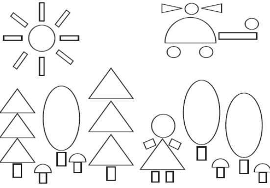 Нод «геометрические фигуры» для детей 6–7 лет. воспитателям детских садов, школьным учителям и педагогам - маам.ру