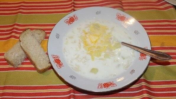 Молочный суп с вермишелью (лапшой) для ребенка