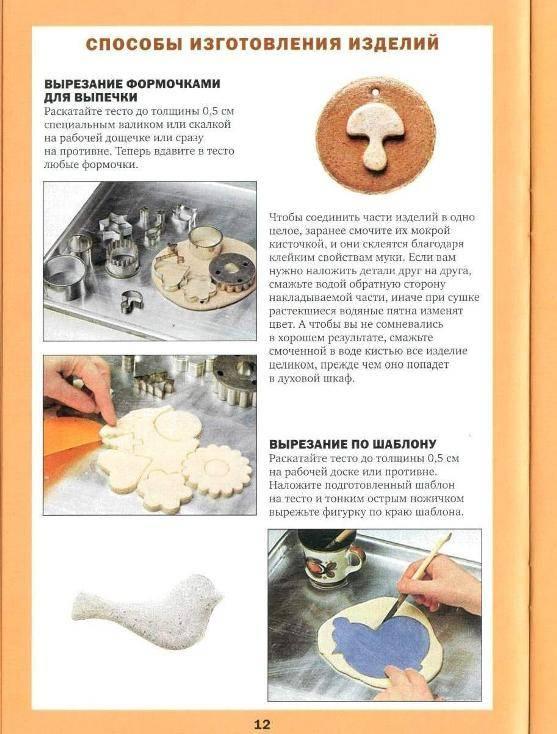 Фигурки из солёного теста своими руками: инструкция, фото идеи