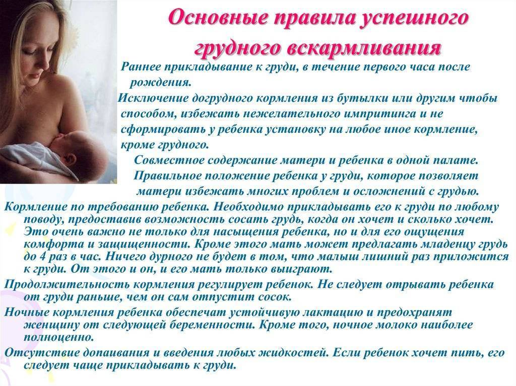 Воз | охрана, поощрение и поддержка практики грудного вскармливания