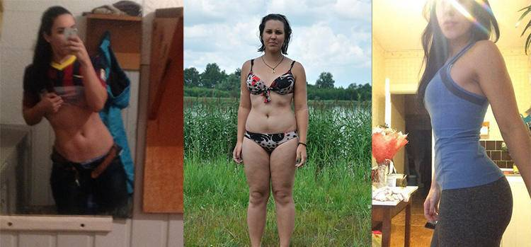 10 впечатляющих историй похудения