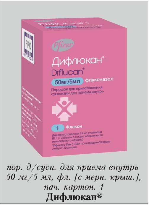 Дифлюкан® (diflucan®)
