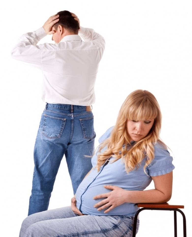 Уход беременной жены от мужа: доводы за и против