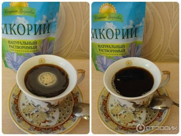 Цикорий – заменитель кофе при грудном кормлении