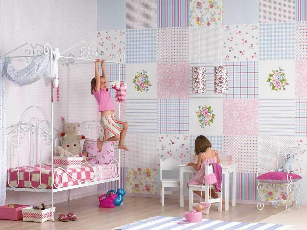Как правильно подобрать обои для детской комнаты