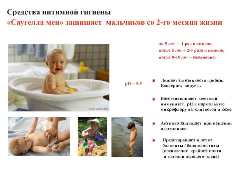Интимная гигиена младенцев. вредные мифы и советы педиатра