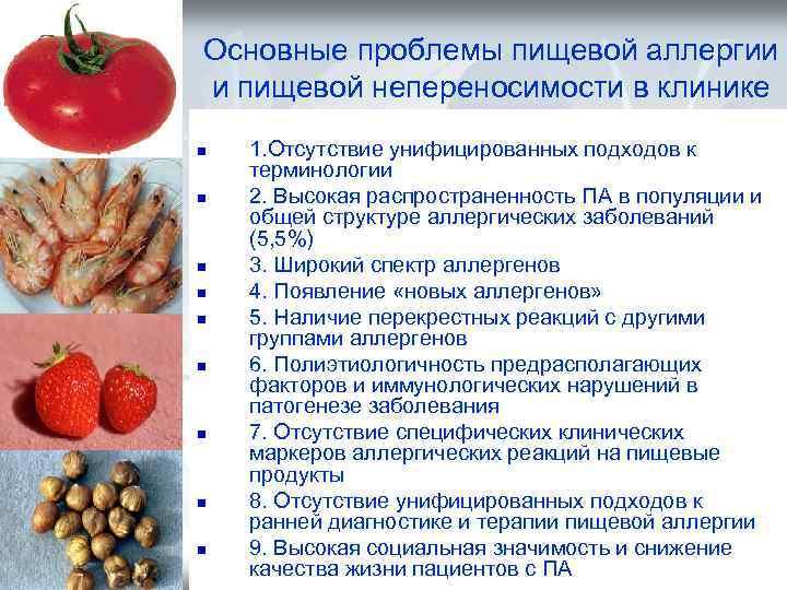 Пищевая аллергия - симптомы, причины, профилактика и лечение