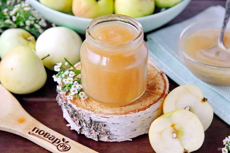 Приготовление яблочного пюре грудничку своими руками: как сделать из свежих яблок