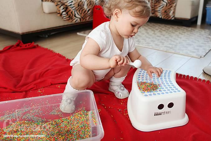 Чем занять ребёнка в 2 года дома?