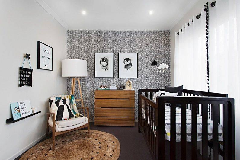 Варианты оформления дизайна детской комнаты в скандинавском стиле