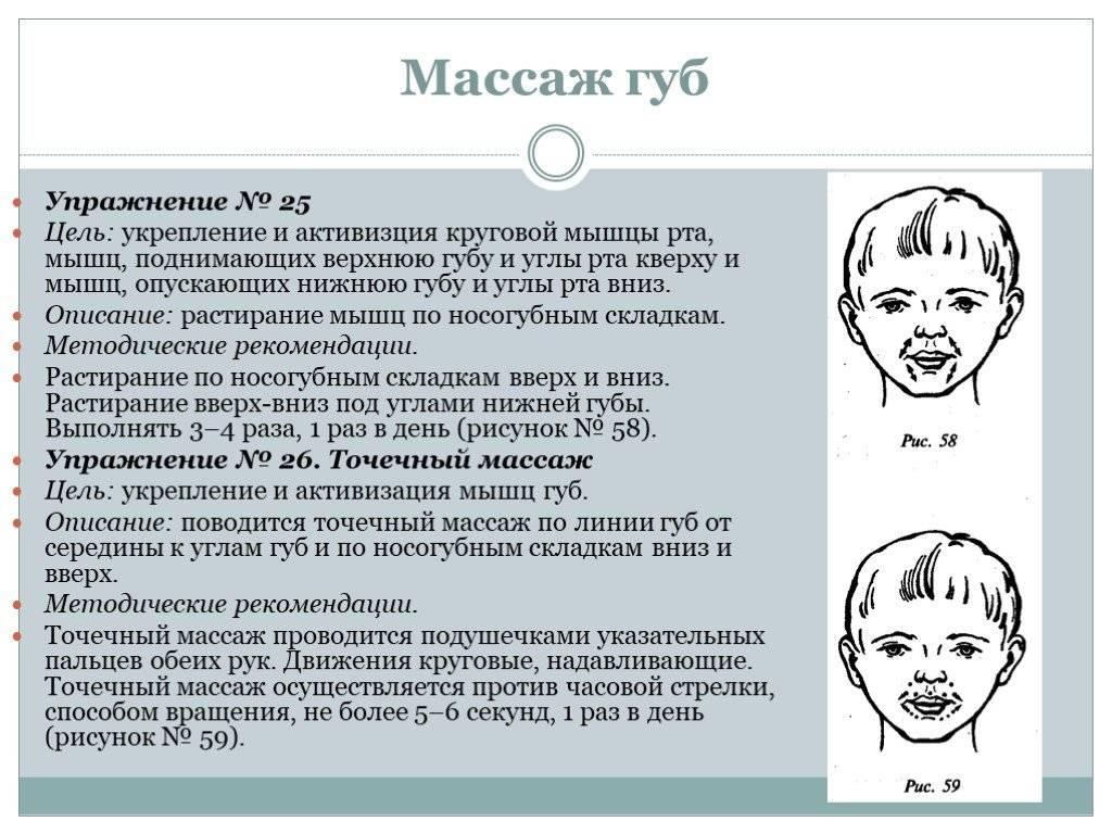 Детский логопедический массаж в москве | семейный доктор