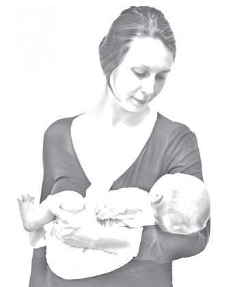 Как держать столбиком новорожденных правильно: рекомендации специалистов