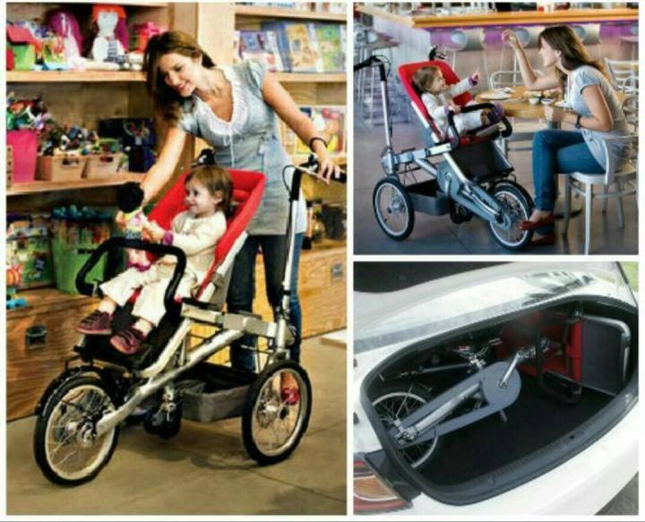 Велоколяски для мамы и малышей