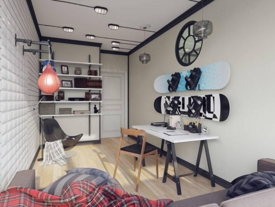 Как оформить комнату для подростка девочки в стиле лофт: выбор стиля, особенности зонирования