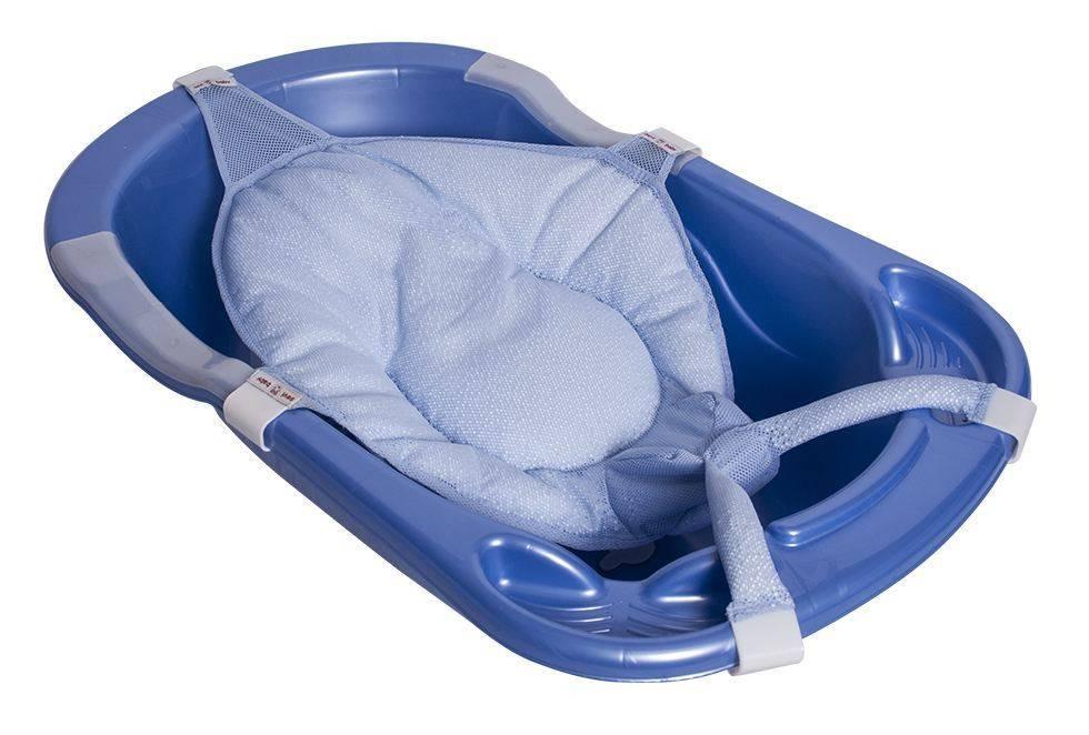 Ванночки, круг, горка и другие средства для купания новорожденного