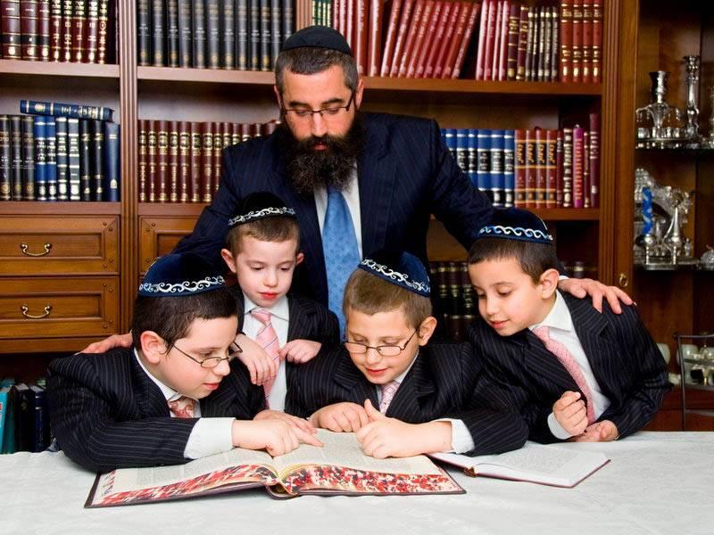 Еврейское воспитание детей - 7 правил, как вырастить гения - калейдоскоп событий