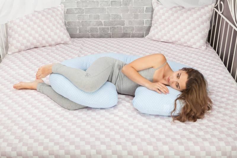 Как выбрать подушку для беременных