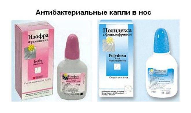 Антибиотики при разных формах ринита