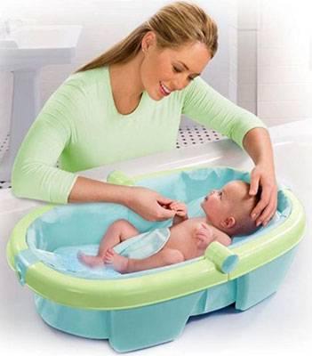Ванночка для купания новорожденных малышей