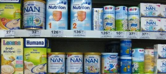 Список молочных смесей для детей без пальмового масла