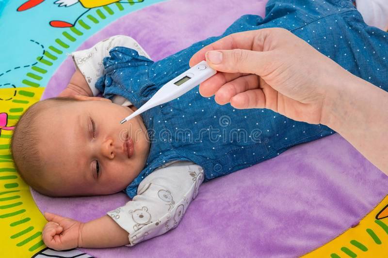 Как измерить температуру новорожденному: 3 способа