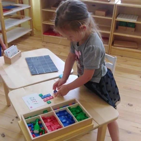 Практические занятия по монтессори для детей | аналогий нет