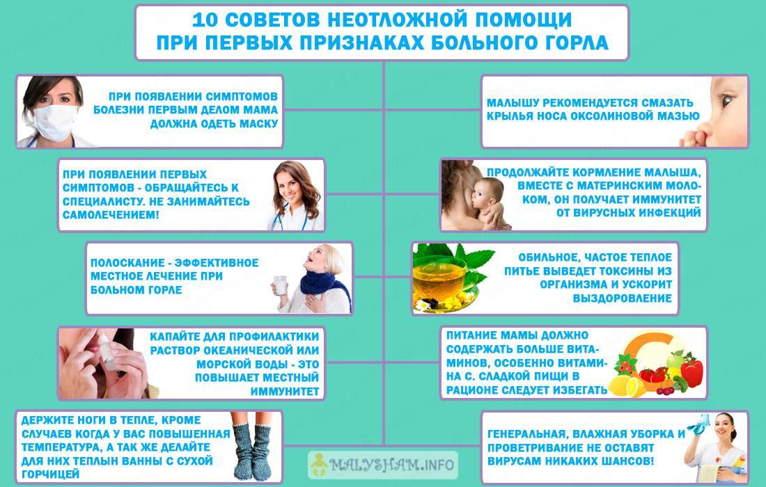 Как вылечить простуду при грудном вскармливании?
