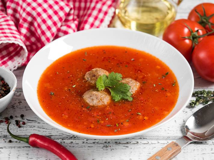 Как приготовить суп с курицей для ребенка