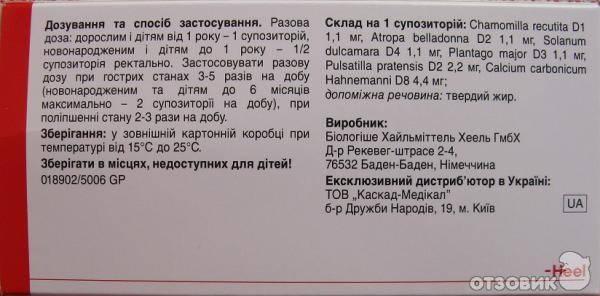 Вибуркол® (viburcol®)