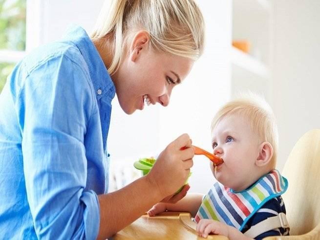 Как научить ребенка жевать и глотать твердую пищу: Комаровский