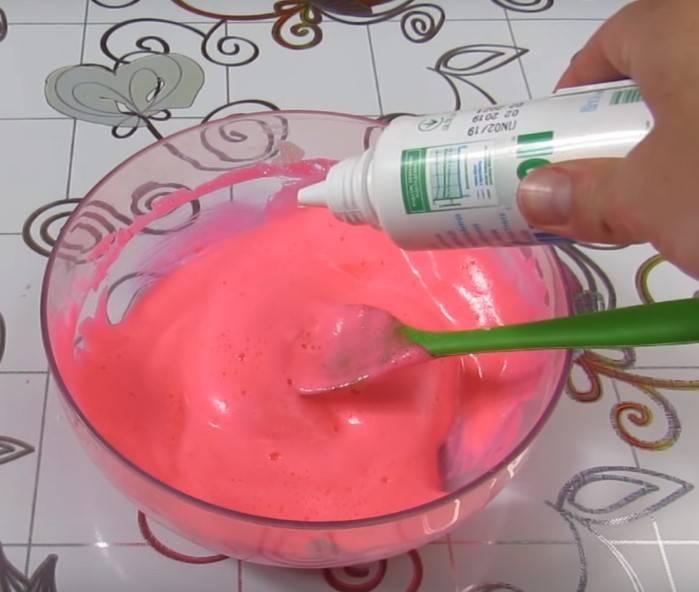 Как сделать лизуна в домашних условиях из разных ингредиентов