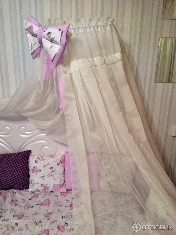Выкройка балдахина для детской кроватки - вместе мастерим
