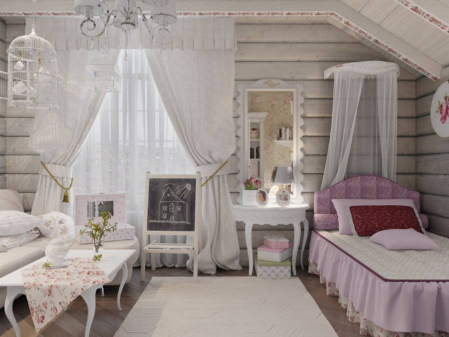 Детские спальни для девочек (73 фото): дизайн интерьера для 10-12 лет, оформление в стиле «икеа» в розово-зеленом цвете