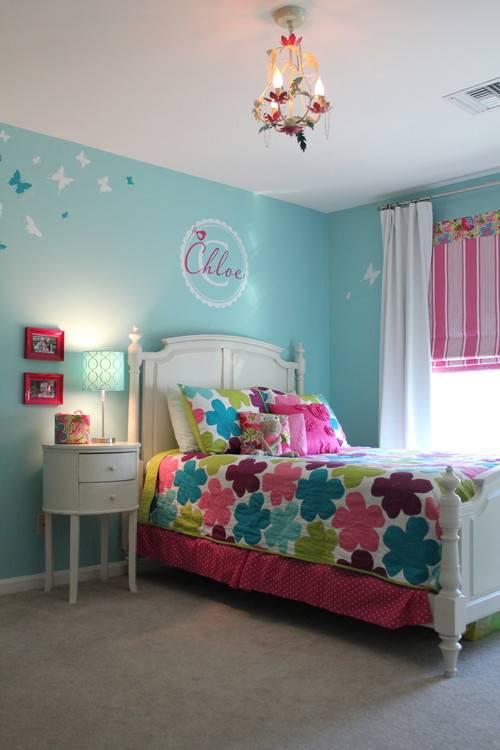 Голубой и синий цвет в интерьере детской комнаты: особенности дизайна