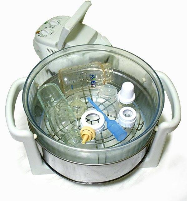 Как правильно стерилизовать бутылочки в микроволновке