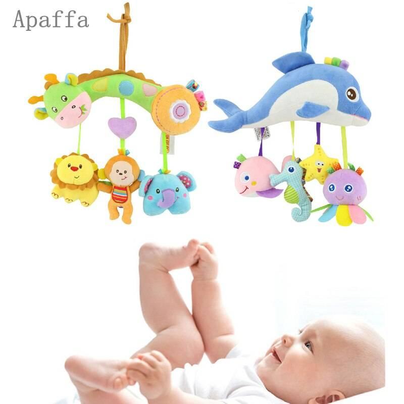 Погремушка для новорожденных