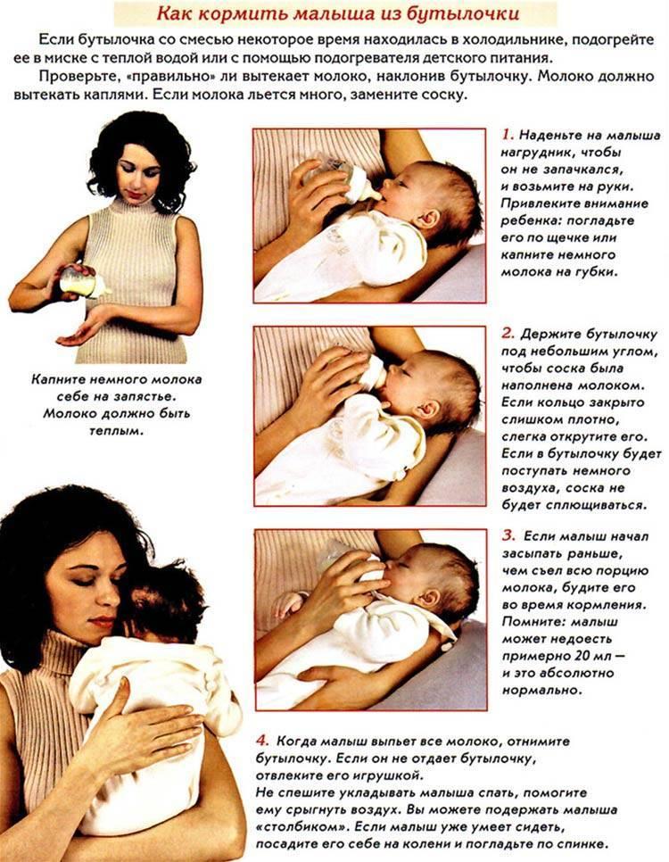 Способы кормления новорожденных: бутылочка, чайная ложечка, чашка, поильник