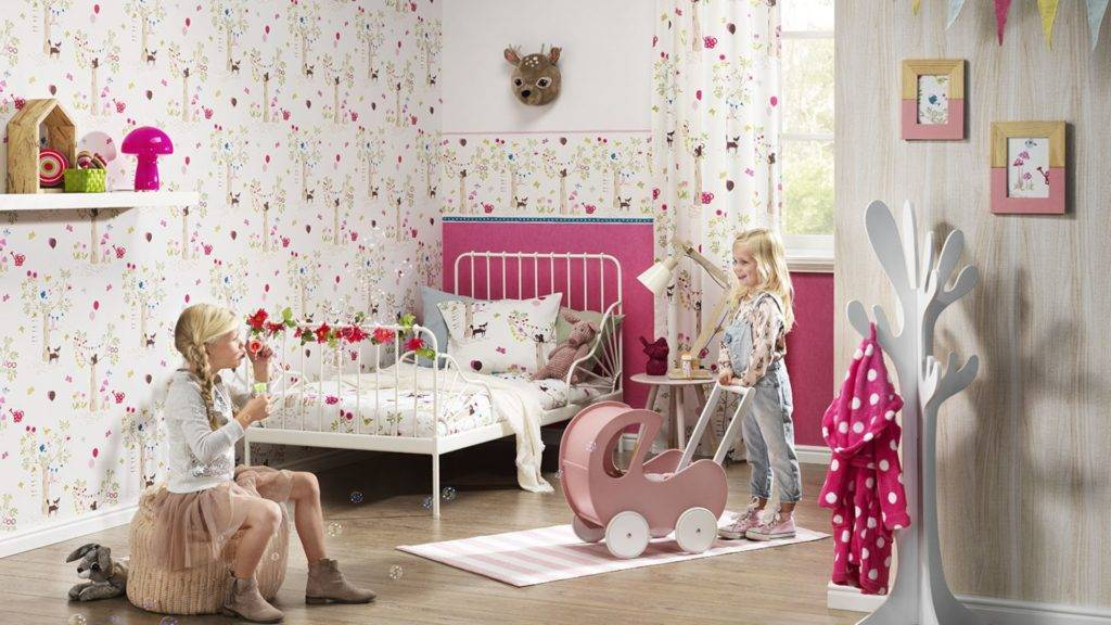 Обои для детской комнаты: фото и выбор лучших вариантов (виниловые, фотообои и другие)   детская   vpolozhenii.com
