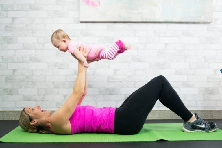 Как вернуться к тренировкам после беременности?