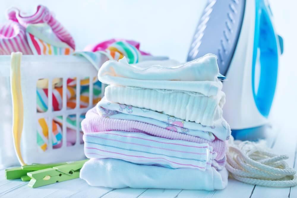Как стирать детские пеленки, при какой температуре