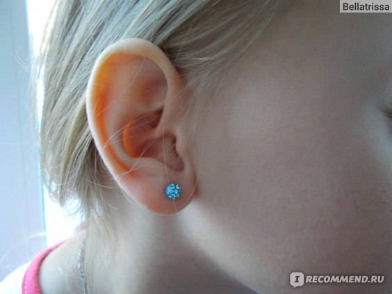 В каком возрасте лучше прокалывать уши, безопасно ли прокалывать уши ребенку