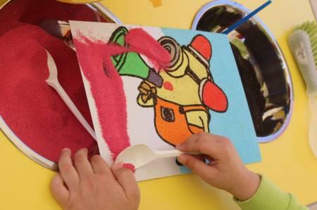 Мастер-класс «рисование песком на световом столе». воспитателям детских садов, школьным учителям и педагогам - маам.ру