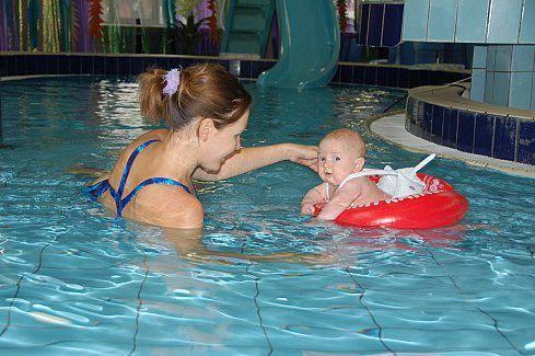 Первый раз в аквапарке с детьми: правила поведения