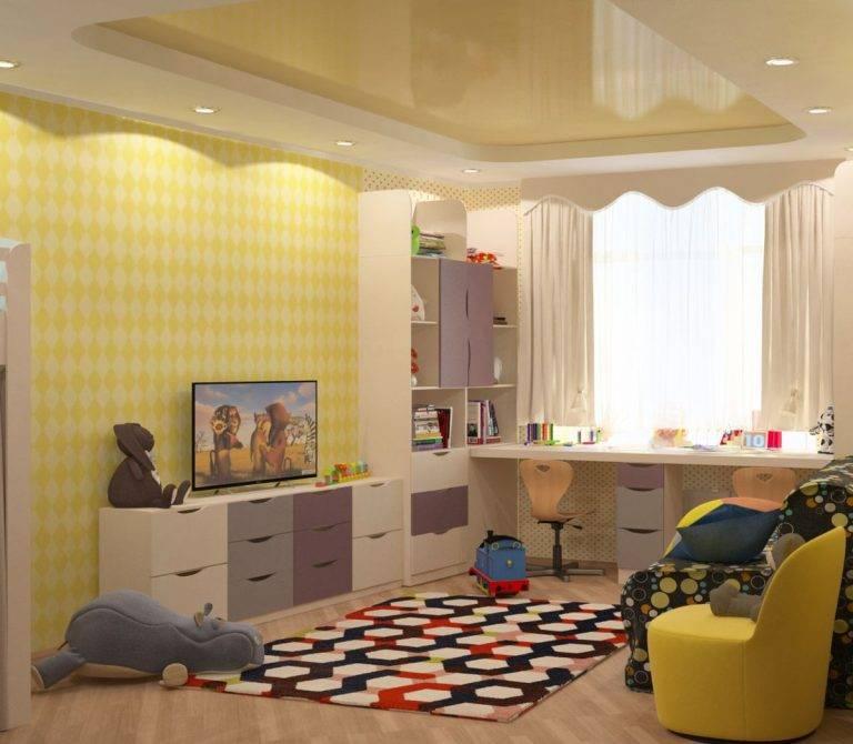 Детская комната 9 кв м: примеры дизайна [43 фото]