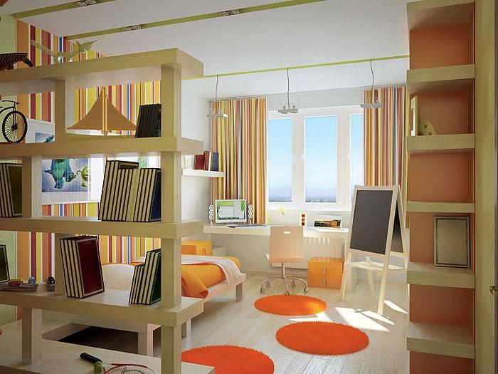 Современная детская комната — 45 фото необычного идей дизайна