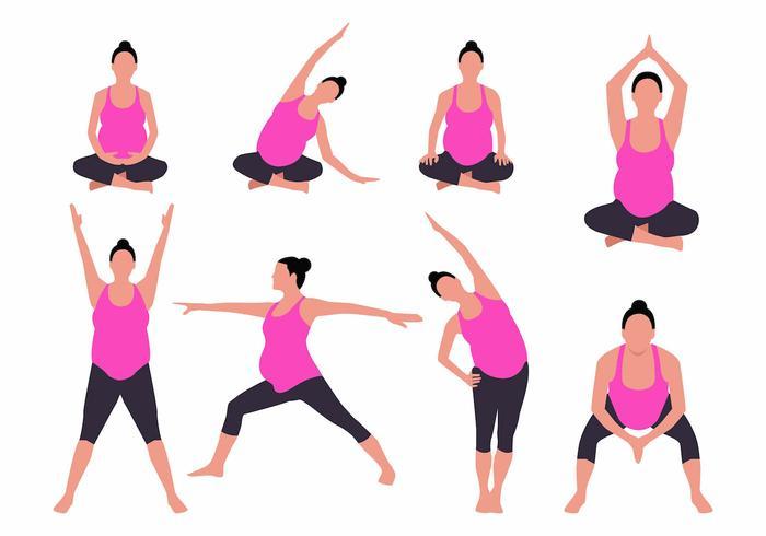 Йога для беременных: 1, 2, 3 триместр, видео, в домашних условиях, упражнения