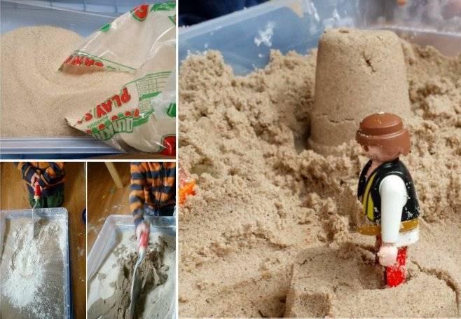 """Кинетический """"космический песок"""": отзывы. """"космический песок"""": описание, свойства"""