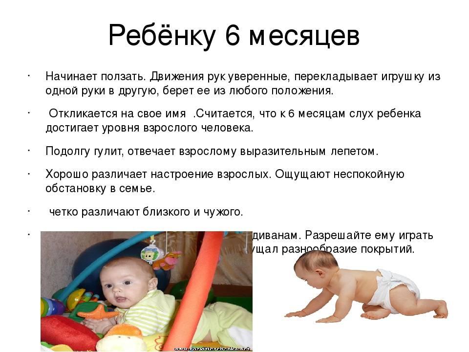 Когда ребенок начинает ползать, во сколько на четвереньках и по пластунски?