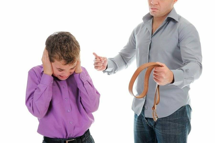 Имеет ли право отец бить ремнем ребенка в целях воспитания